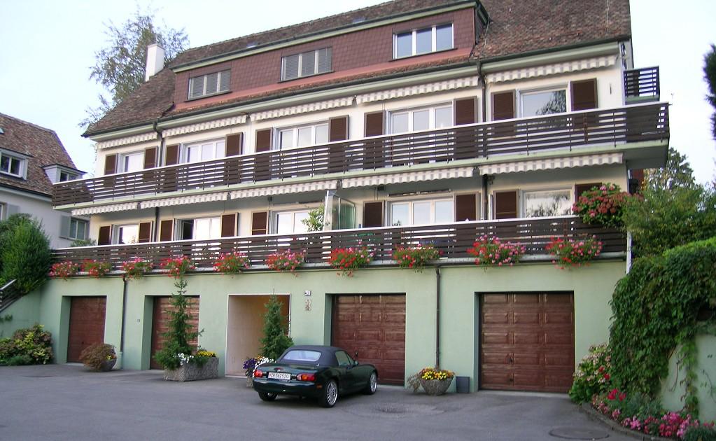 Dachausbau im Seefeld Lux Guyer Haus